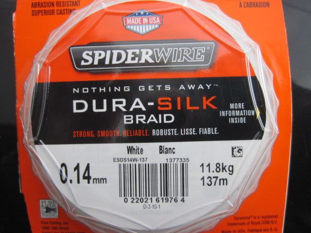 Dura silk spiderwire (1)
