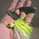 Un jour un leurre : Le spinnerbait Killer Bait over de Gan Craft