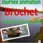 Journée animation brochet le 25/10/15 à Herculat
