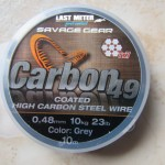 Le câble gainé Carbon 49  de Savage Gear
