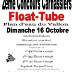 Open float tube d' AUTUN le 16/10/16