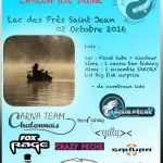 1er open carnassier float tube de Chalon sur Saône le 02/10/16