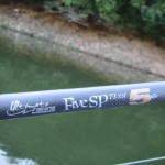 La canne Ultimate Fishing Engeenering Five SP 73 XH Lunker Hunter