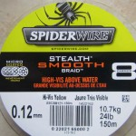 La tresse Stealth Smooth 8 de Spiderwire